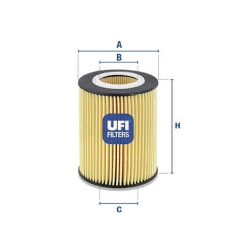 Fits BMW 3 Series E46 325 ti Genuine UFI Engine Oil Filter Insert