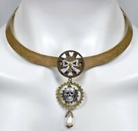 Steam Soiree Steampunk Collar Necklace By No Monet