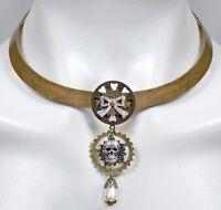 Steam Soiree Steampunk Collar Necklace By No Monet