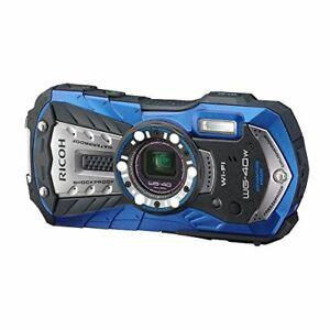 RICOH-waterproof-digital-camera-RICOH-WG-40W-Blue-Waterproof-14-m-Shock