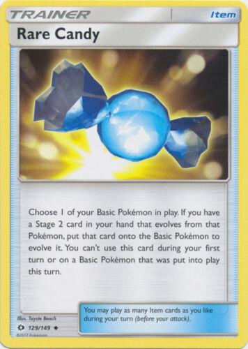 4x Rare Candy Sun /& Moon Base Set 129//149 Uncommon NM-Mint Pokemon SM01