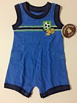NWT 2 Carter/'s Child of Mine Infant Boys Romper Brown Orange Striped NEW UNUSED