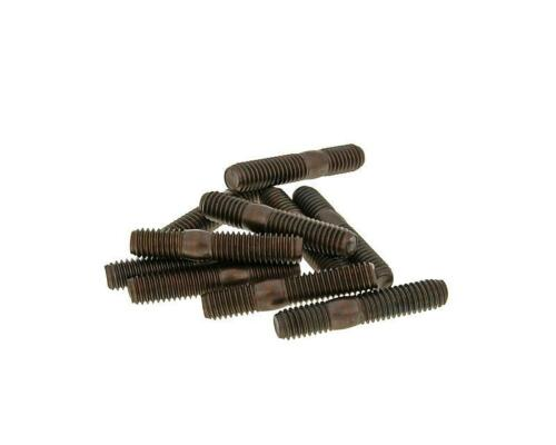 Baotian BTM BT125T-12 Rebel Pack of 10 M6 32mm Length Exhaust Studs