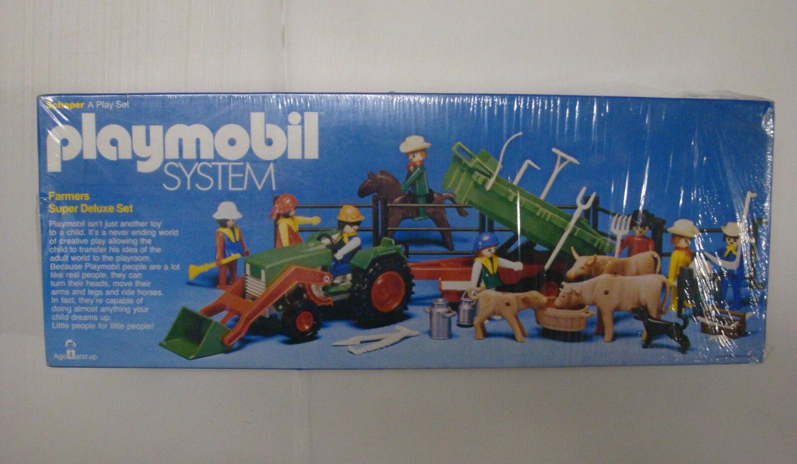 RARO Jugarmobil Klicky Schaper USA estado en caja sellado - granja & tractor