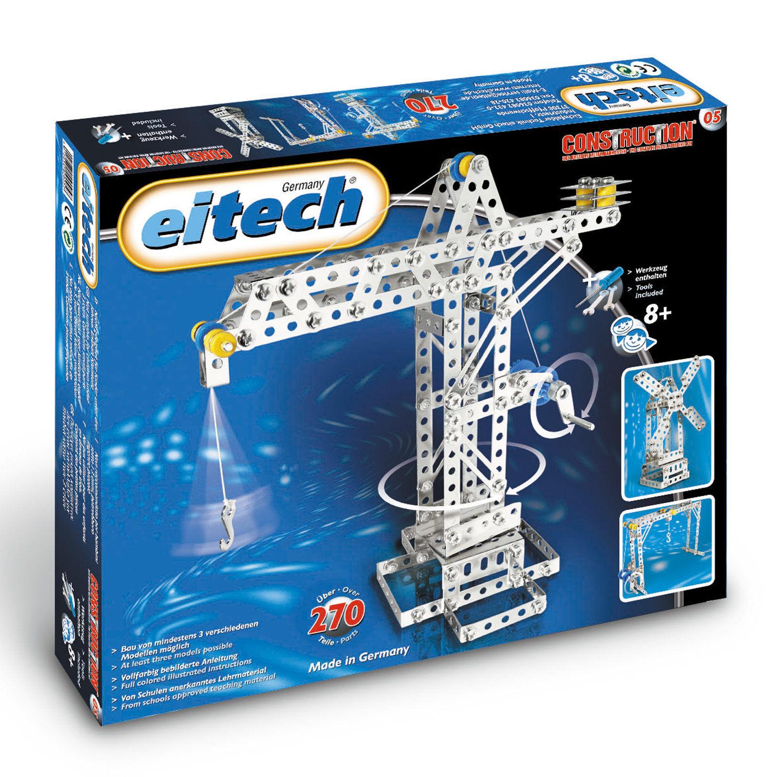 Eitech Metal Construction Sets Universal Lift Bridge 13 13 13 13 16x11 5ad40a