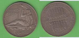 Kalendermed-Borde-Bronce-1966-Kottenstorfer-Jupiter-Monedas-Viena-Aprox