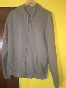 65940bc18465 Puma Men s Full-Zip Gray Hoodie Sweatshirt - Size Large L Casual ...