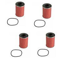 Bmw E12 E23 E24 E28 E32 E34 Set Of 4 Oil Filter Kits Bosch 11 42 9 063 138 on Sale