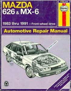 1983 1984 1985 1986 1987 1988 1989 1990 1991 mazda 626 and mx 6 rh ebay com Workshop Manuals Oilfield Well Testing Pontiac Shop Manual 2007