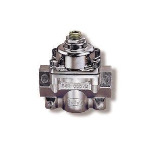 Holley-12-803-Fuel-Pressure-Regulator-4-5-9-psi-Single-Inlet-Dual-Outlets