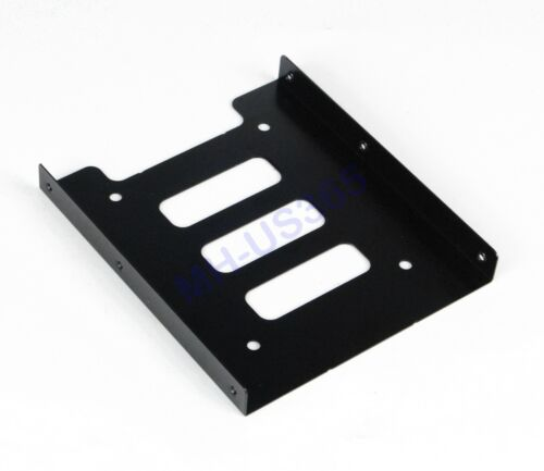 NEW 2.5/'/' TO 3.5/'/' PC HDD SSD HARD DRIVE METAL TRAY MOUNTING BRACKET KIT ADAPTER