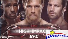 2016 Topps UFC High Impact Factory Sealed BOX-AUTOGRAPH,2 Parallels+ Insert Card