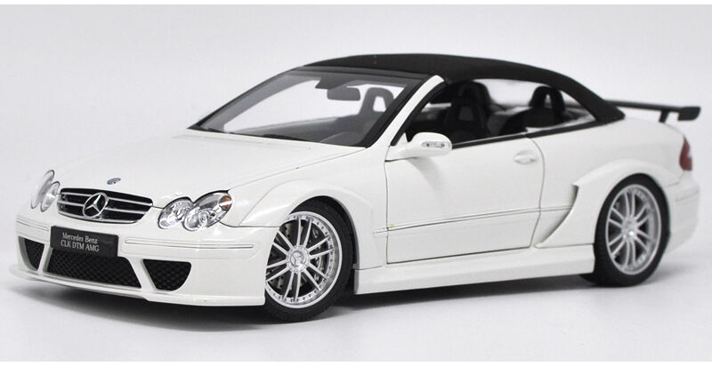 1 18 Kyosho Mercedes-Benz CLK DTM AMG Soft roof congreenible die cast model