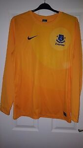 Mens Football Shirt  Everton  Goal Keeper Goalkeeper 201213  Nike  12 L - <span itemprop='availableAtOrFrom'>Sheffield, England, United Kingdom</span> - Mens Football Shirt  Everton  Goal Keeper Goalkeeper 201213  Nike  12 L - <span itemprop='availableAtOrFrom'>Sheffield, England, United Kingdom</span>