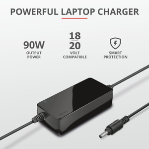 Trust Caricabatteria per laptop da 90W per HP PC Portatile Computer alimentatore