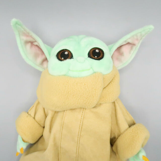 "Baby Yoda Plush THE CHILD Mandalorian Star Wars 11"" Disney Store Toy"