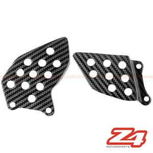 Details about 2013-2019 CBR600RR Rearset Foot Peg Mount Heel Guard Plate  Fairing Carbon Fiber