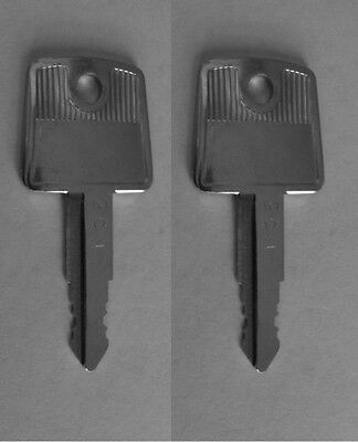 2 Mobella SouthCo Boat Replacement Keys Pre-Cut To Your Key Code Codes 802-848