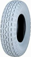 4.10-6 3.50-6 Kenda Gray 4 Ply Tire Fits Hoveround Power Scooter