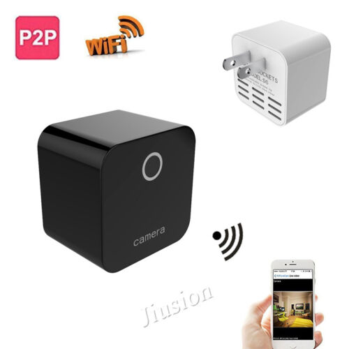 1080P HD Wifi IP  Wireless Camera Remote Recording Charger Night Vision Video