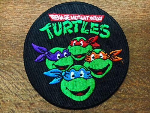 Teenage Mutant Ninja Turtles Embroidered Iron on Patch