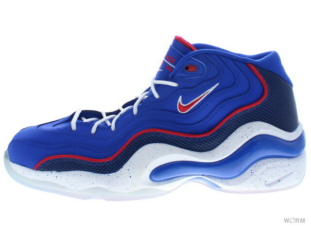 NIKE AIR ZOOM FLIGHT 96 317980-400 game royal unvrsty red-white Size 11