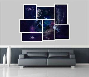 Huge-Collage-View-Fantasy-Underwater-Wall-Stickers-Wallpaper-Mural-685