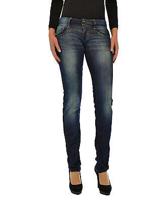 Jeans Donna Ragazza Pantaloni MET Made in Italy Slim Fit C463 Tg 24