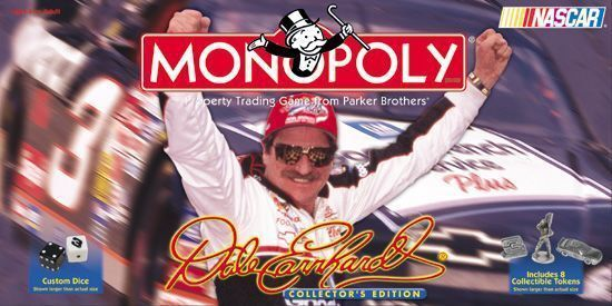 preferenziale NASauto Dale Dale Dale Earnhardt Monopoly gioco Factory Sealed  qualità autentica