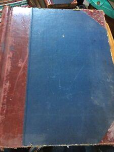 HUGE-Antique-Ledger-1950s-York-Accounts-Cash-Book-Hand-Written-Corn-Merchants
