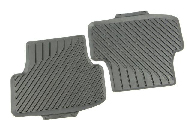 goma Juego de alfombrillas para Audi A3 // A3 Sportback desde 2012 Audi color negro 4 unidades