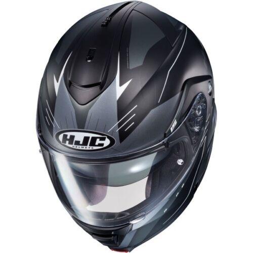 HJC IS-Max 2 Cormi Grey Black Flip-Front Motorcycle Helmet Modular Motorbike J/&S