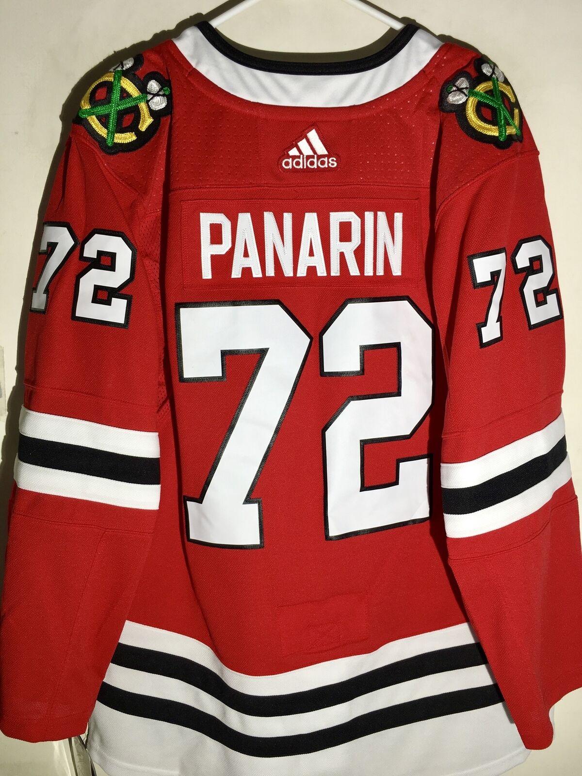 ef5f6222b0c8 adidas Authentic NHL Jersey Chicago Blackhawks Artemi Panarin Red sz sz sz  54 a25822