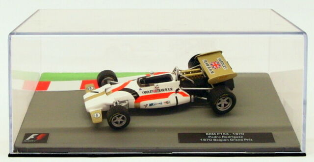 Altaya 1/43 Scale Model Car 27318F - F1 BRM P153 - P.Rodriguez Belgian GP 1970