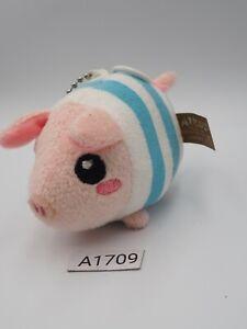 Poogie-A1709-Monster-Hunter-Blue-Strip-Capcom-Vibrating-3-034-Plush-Toy-Doll-Japan