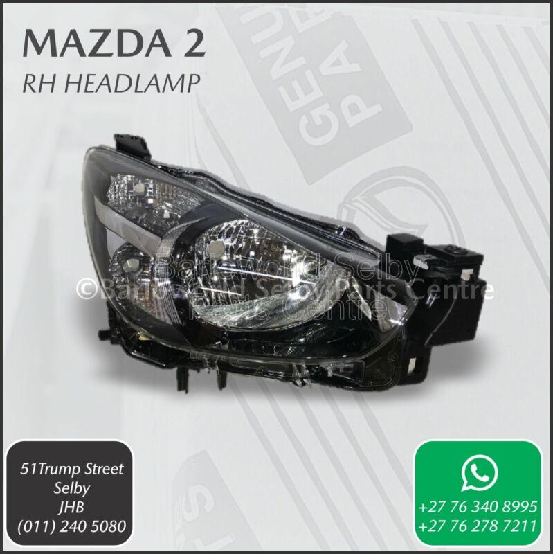 New Genuine Mazda 2 RH Headlamp