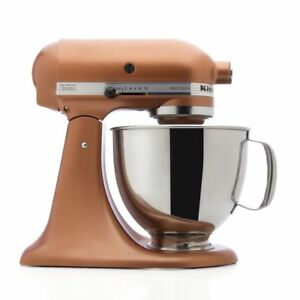 Kitchenaid Stand Mixer Tilt 5 Qt Rrk150ce Refurb Artisan Copper