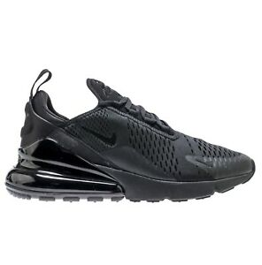 Details about Nike Air Max 270 Mens AH8050 005 Triple Black Mesh Knit Running Shoes Size 10