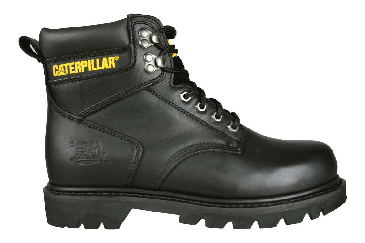 CATERPILLAR - P70043 - Mens 6 6 6  Work Boots - Black Leather - Size 14 a55d32