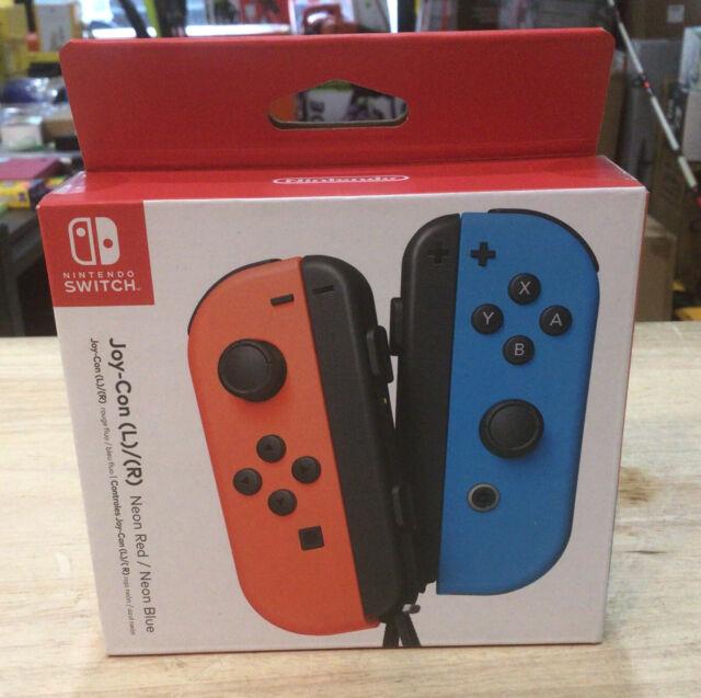Nintendo Switch Joy-Con Controller - Neon Red/Neon Blue - BRAND NEW