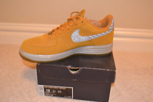 9f26cfa6aa6b Nike Lunar Force 1 Low Reflect Gold Suede Edition size 12 Very Rare ...