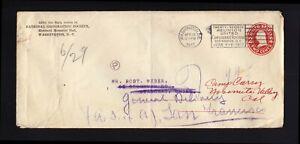 U411 2c PSE USED 1917 to CHINA - Forwarded to San Francisco