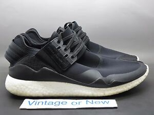 ea3212d25dd88 Men s Adidas Y-3 Retro Boost Yohji Yamamoto Black Running Shoes ...