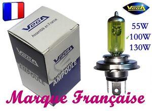 AMPOULE-JAUNE-MARQUE-FRANCAISE-VEGA-55W-PEUGEOT-104-205-305-309