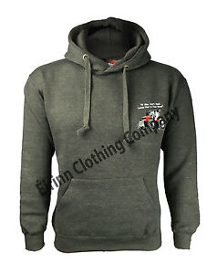 SCANIA LOGO EMBROIDERED CLASSIC HOODIE WORK WEAR OUTDOOR SPORT