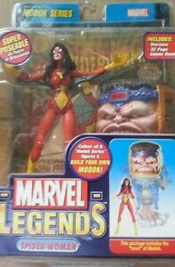 Marvel-Legends-SPIDER-WOMAN-BAF-MODOK-Series-Head-Red-Yellow-Suit-RARE-Wonder
