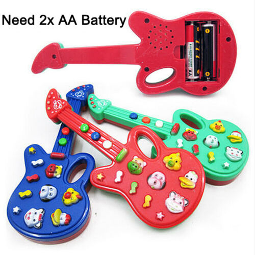 Kids Development Musical Instrument guitar Toy Children Electric Guitar Toys Fun