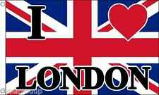 I Love London 1,5m x 0,9 m Fahne Banner BRANDNEU