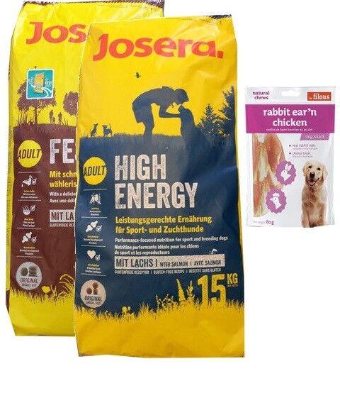 15kg josera Festival  15kg josera High Energy  80g CONIGLIO OREC E