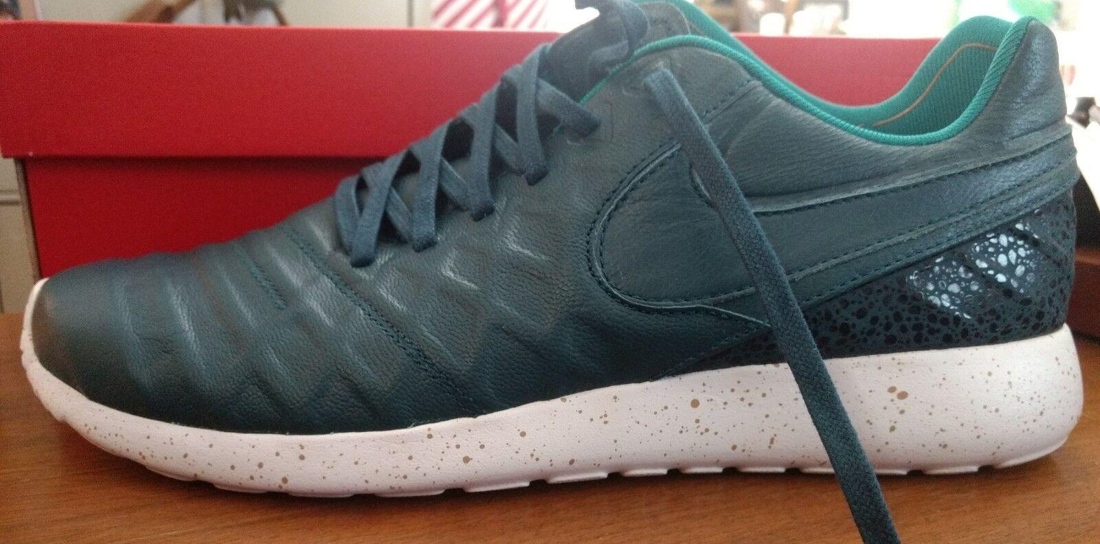 Nike Roshe Tiempo Midnight Turquoise Shoes 11.5 NIB